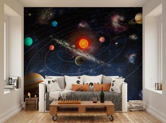 Best Photo Wallpaper Wall Murals Planets Of The Solar System Space With Pictures
