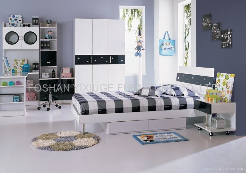 Best Kids Bedroom Set 637 Yixiuge China Manufacturer With Pictures