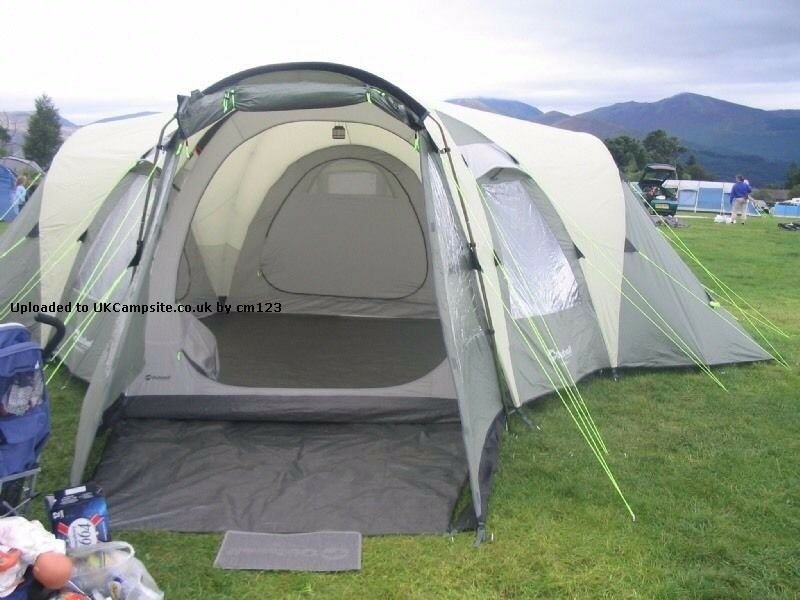 Best Outwell Hartford Xl 8 Person Family Dome Tent 3 Bedrooms With Pictures