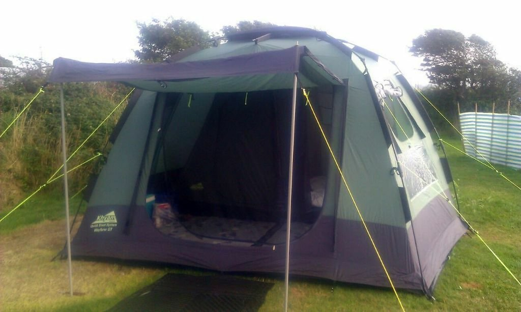 Best Khyam Wayfarer Gt 4 Man Berth 2 Bedroom Rigidome Quick With Pictures