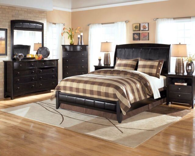 Best Buy Ashley Furniture B208 Harmony Modern Queen Or King With Pictures