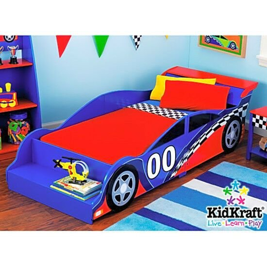 Best Kids Race Car Bed Toddler Bed Boys Child Furniture Bedroom With Pictures