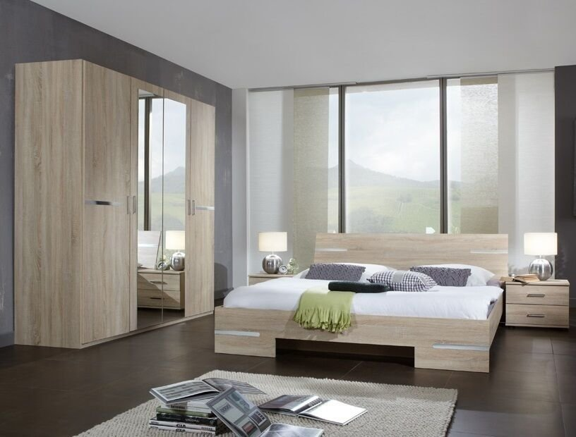 Best Qmax City Range German Made Bedroom Furniture Light Oak Ebay With Pictures