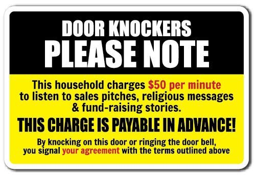Best Door Knockers Please Note Novelty Sign Warning Funny Solicitation Home Gift Ebay With Pictures