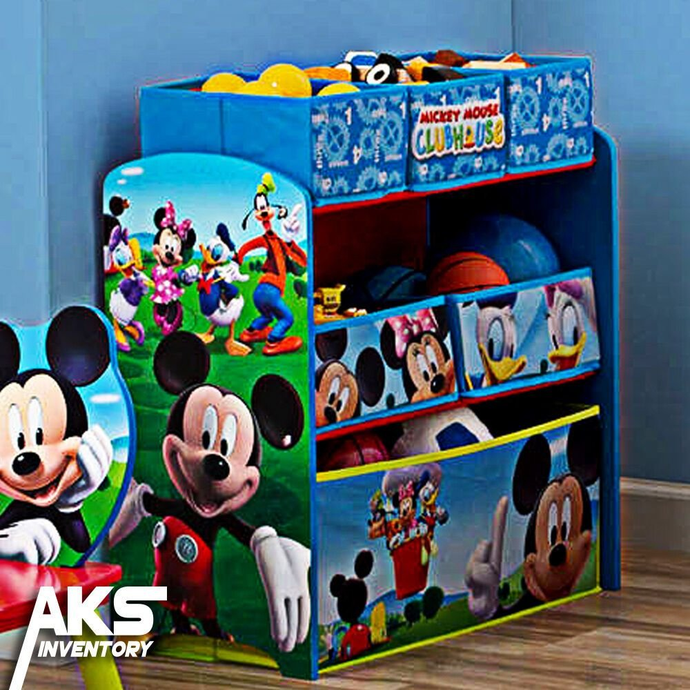 Best Mickey Mouse Kids Toy Organizer Bin Children S Storage Box With Pictures
