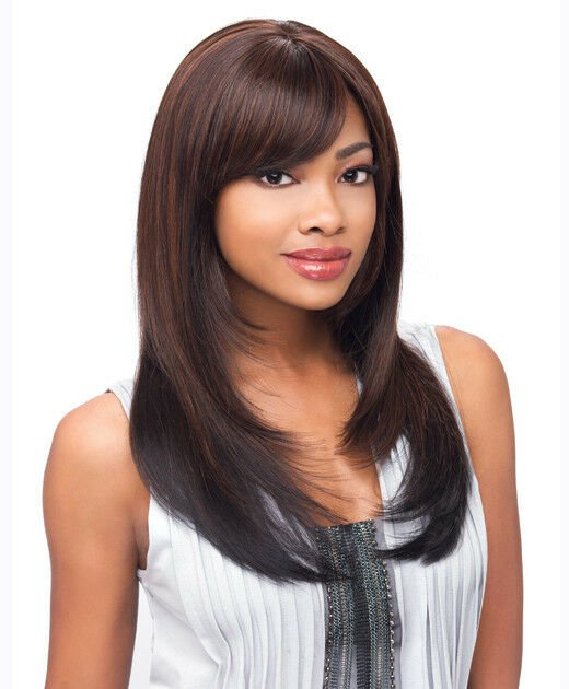 Free Sensationnel Empress Natural Synthetic Lace Front Wig Bree Wallpaper