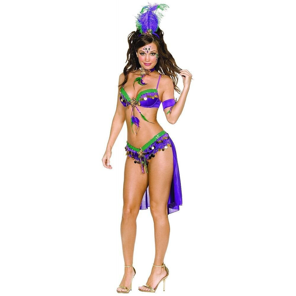 Best S*Xy Mardi Gras Costume *D*Lt Outfit Fancy Dress Ebay With Pictures