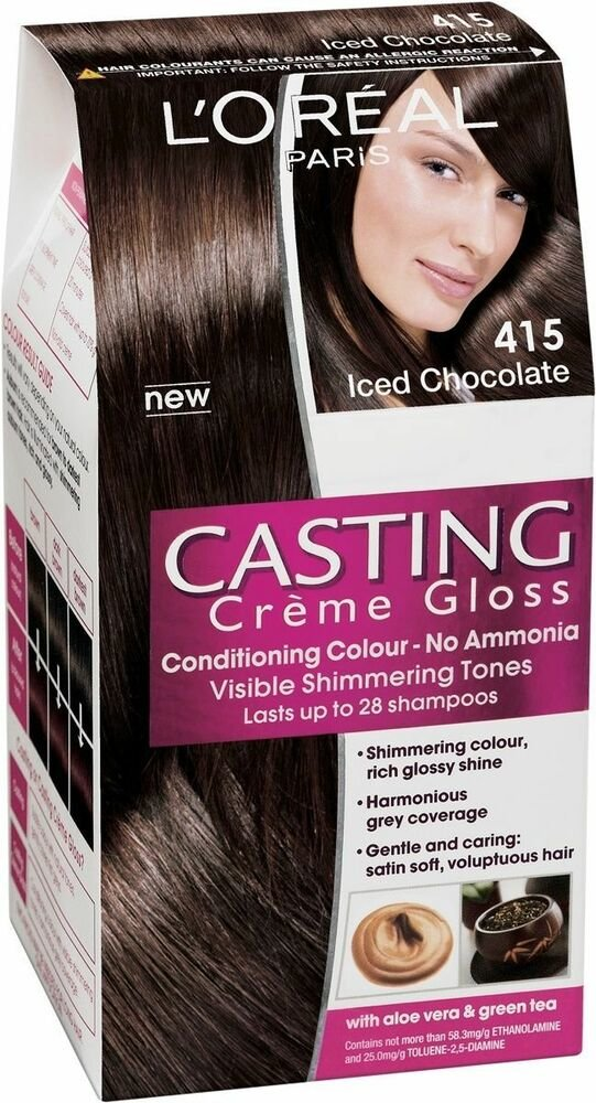 Free L Oréal Casting Crème Gloss 415 Iced Chocolate Permanent Wallpaper