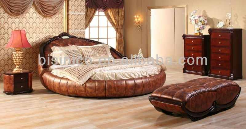 Best Contemporary Luxury Bedroom Furniture Set Golden Genuine With Pictures