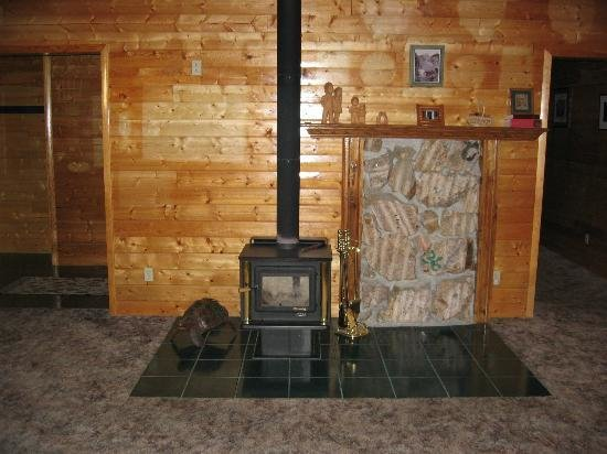 Best Wood Burning Stove In Three Bedroom Cabin In Craig With Pictures