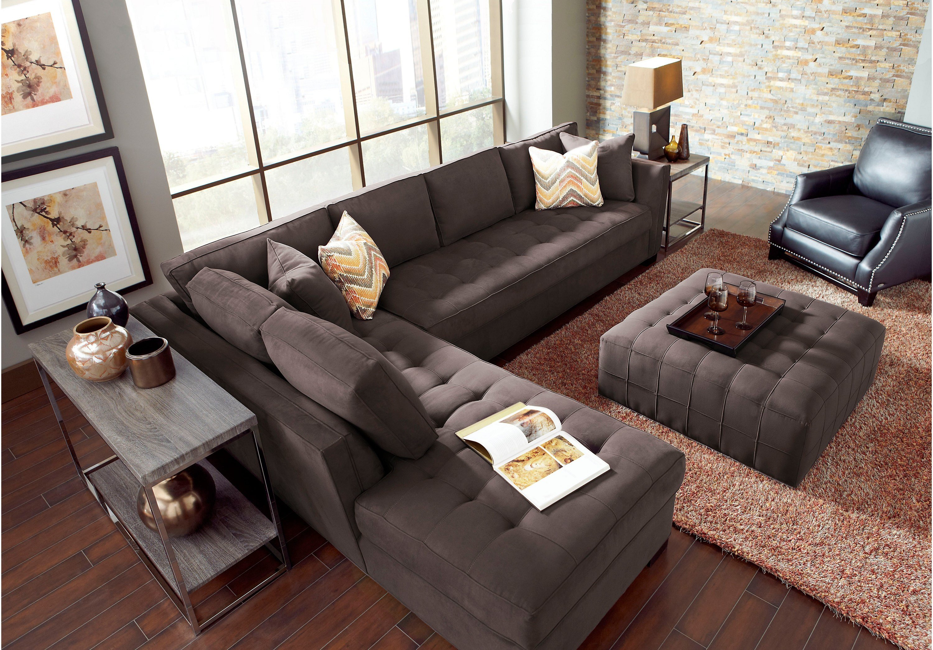 Best Awesome Cindy Crawford Home Sectional Sofa Mediasupload Com With Pictures