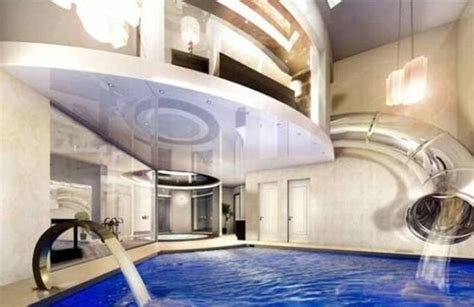 Best Billionaires P*Mp Their Mansions With Indoor Waterfalls And Slides Metro News With Pictures