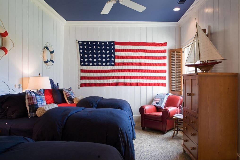 Best All American Red White And Blue Decor With Pictures