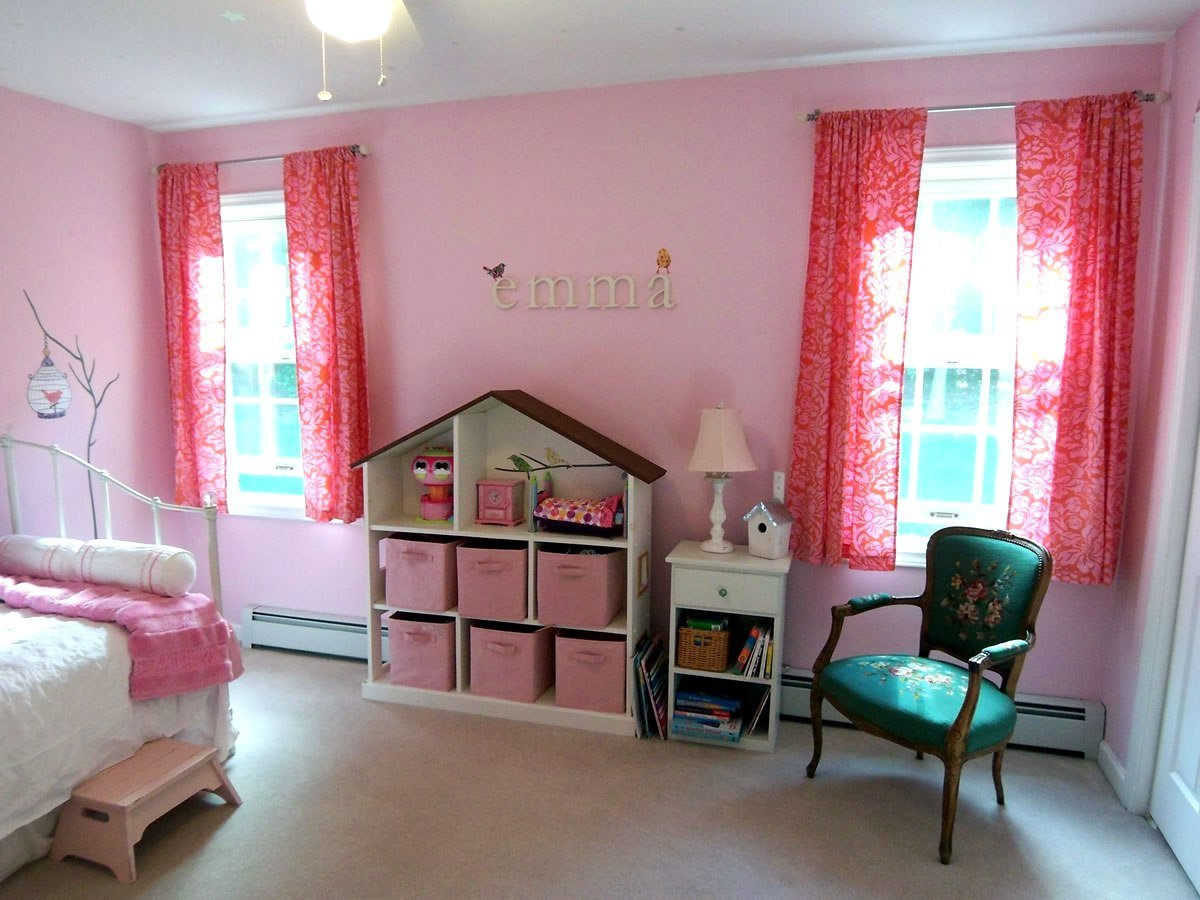 Best A Non Princess Pink Room With Pictures