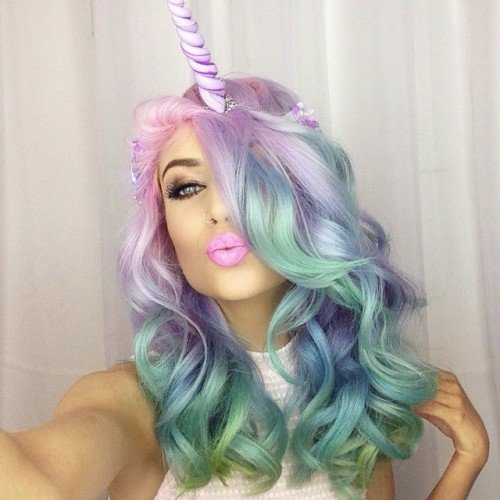 Free Pastel Hair Color On Tumblr Wallpaper