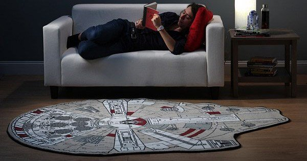 Best The Millennium Falcon Rug For Mini Star Wars Fans With Pictures