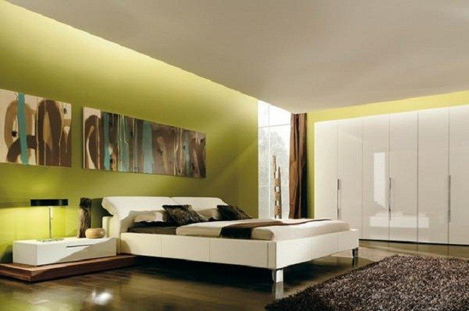 Best Bloombety Really Cool Bedroom Ideas Green Wall Color With Pictures