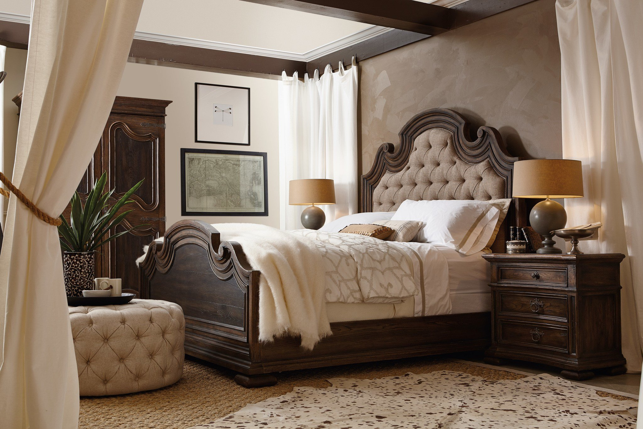 Best Hill Country Upholstered Bedroom Collection By H**K*R With Pictures