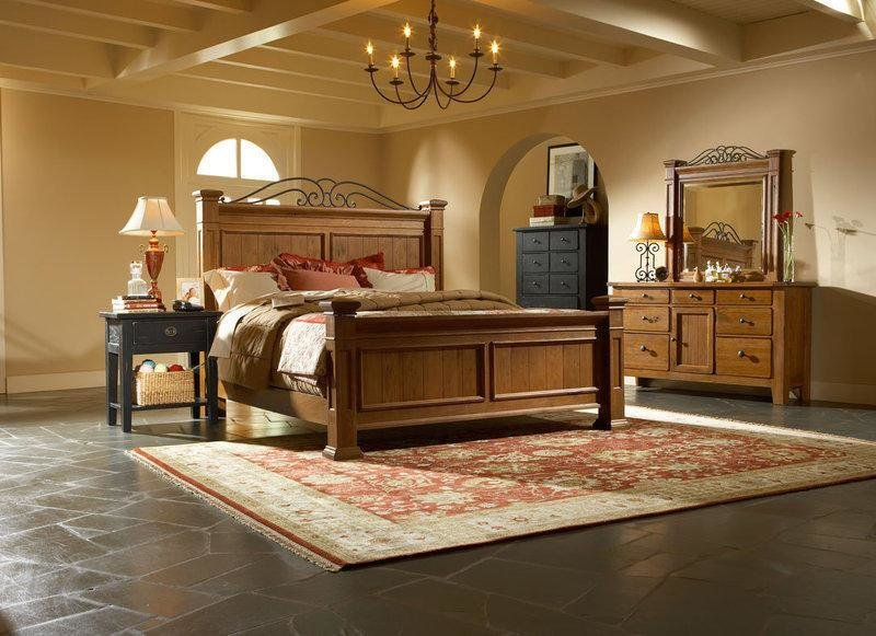 Best Broyhill Furniture Attic Heirlooms Cherry Or Black Iron With Pictures