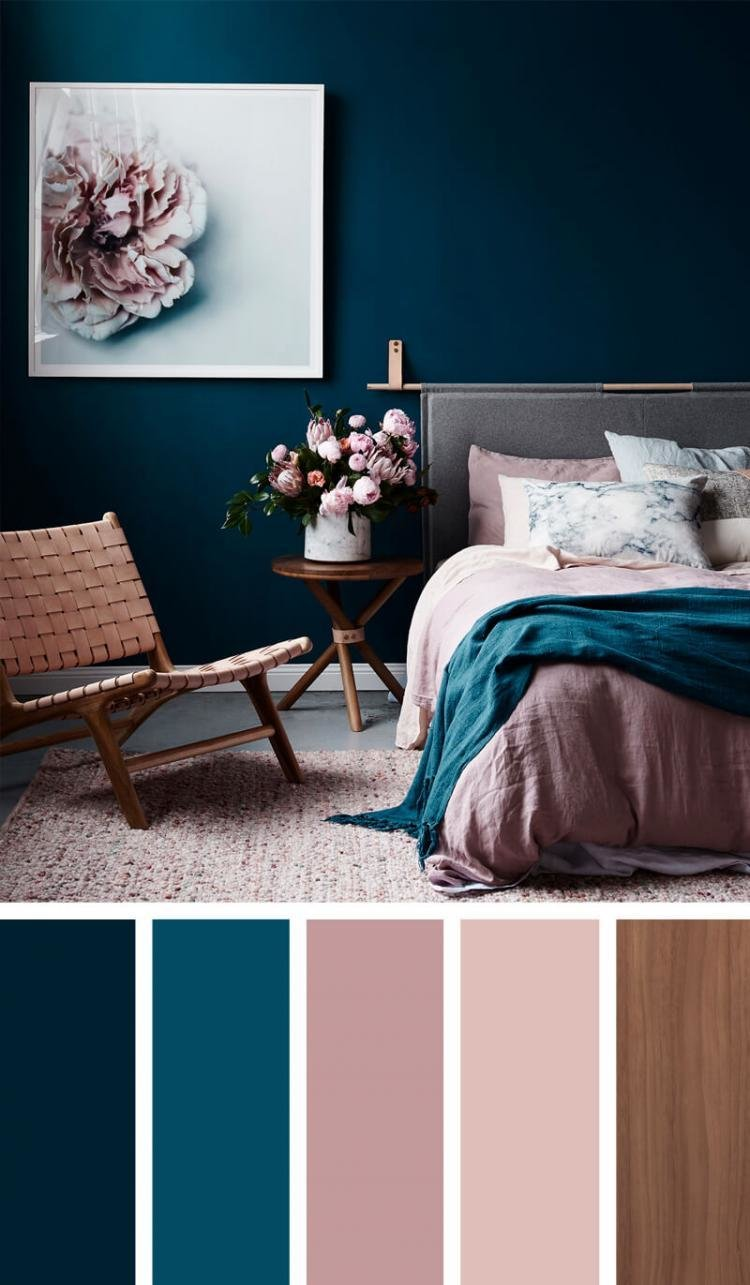 Best 4 Bedroom Color Schemes To Create A Mood Of Restfulness With Pictures