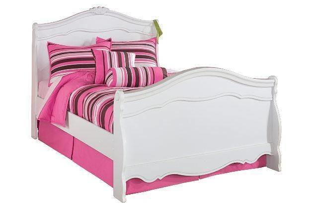 Best Ashley Exquisite B188Y Full Size Sleigh Bedroom Set 6Pcs With Pictures