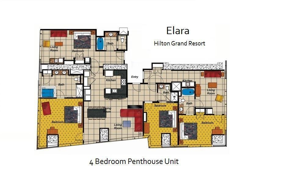 Best Elara A Hilton Grand Vacations Club Las Vegas Nevada With Pictures