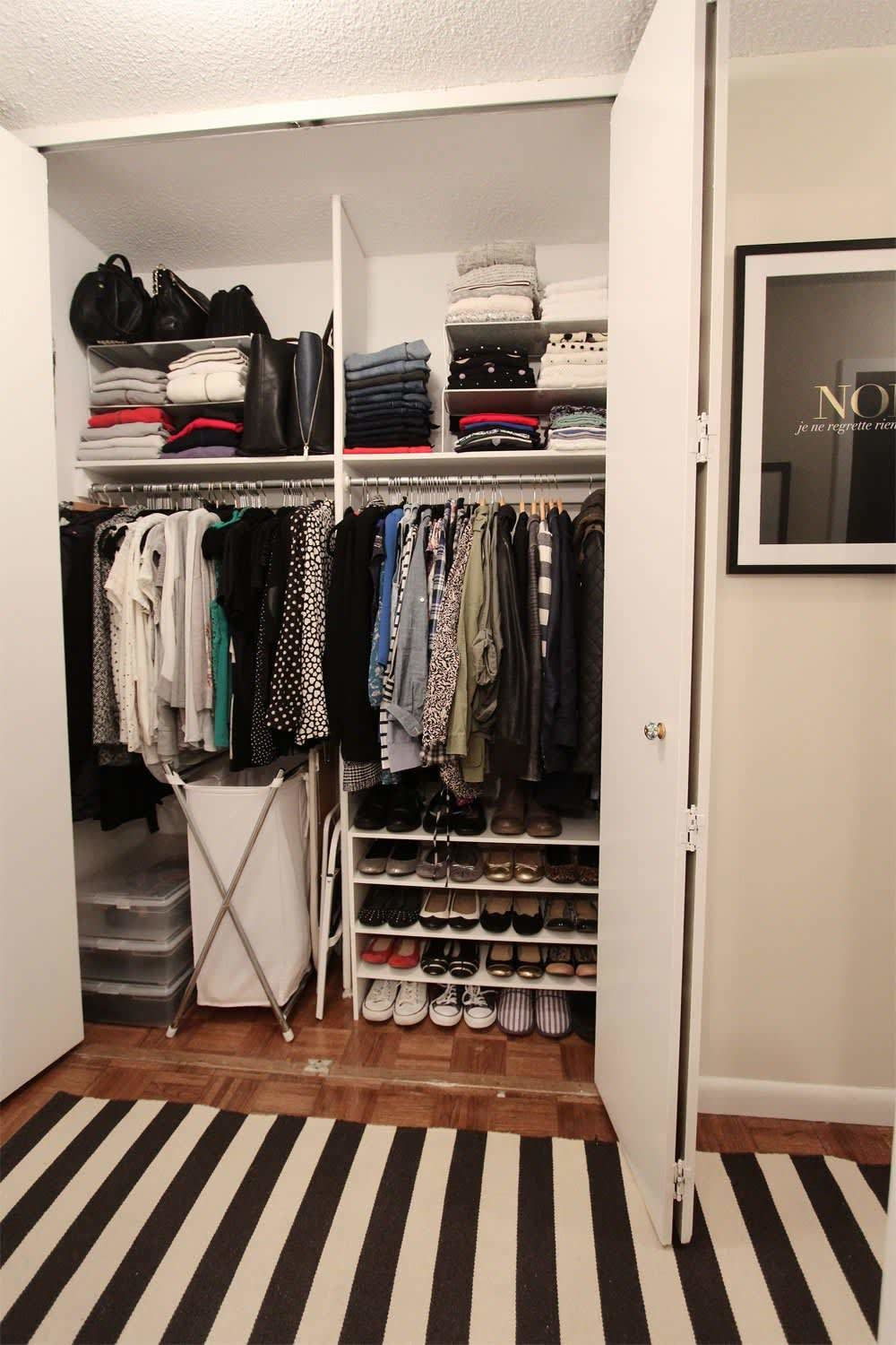 Best 20 Smart Ways To Organize Your Bedroom Closet Apartment With Pictures