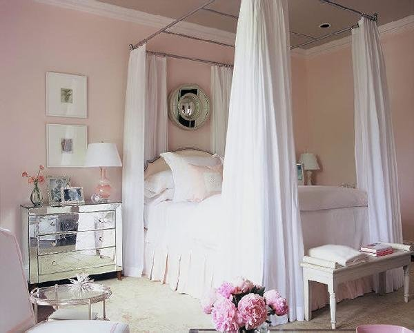 Best Pale Pink Bedroom Color Design Ideas With Pictures