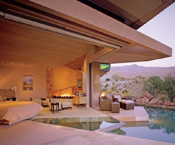 Best Pool In Bedroom Transitional Bedroom With Pictures