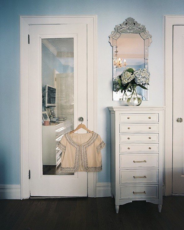 Best Mirrored Door Contemporary Closet Lonny Magazine With Pictures