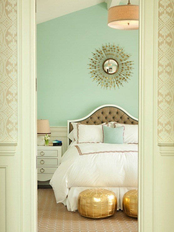 Best Seafoam Green Bedroom Cottage Bedroom Jonathan Adler With Pictures