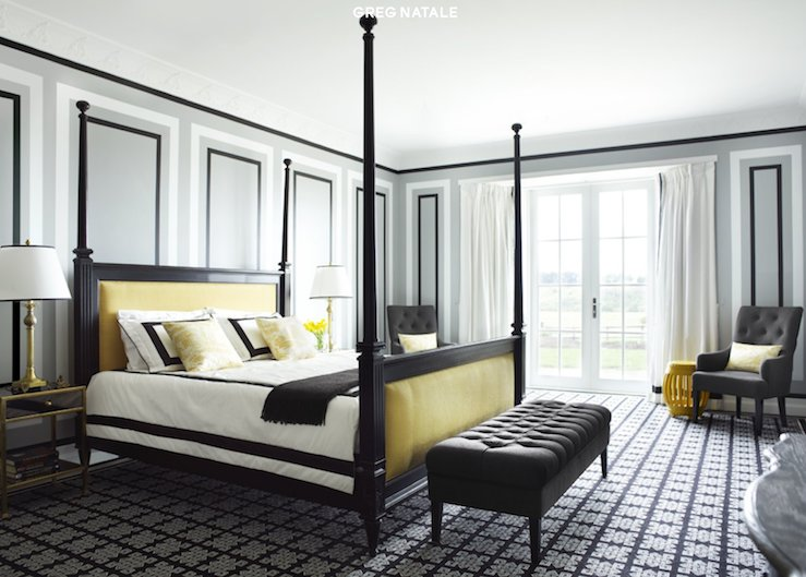 Best Gray And Yellow Bedroom Contemporary Bedroom David With Pictures