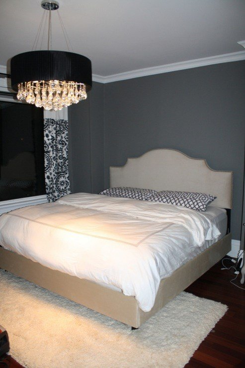 Best Charcoal Gray Paint Color Contemporary Bedroom With Pictures