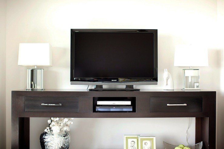Best Media Console Contemporary Bedroom Caitlin Wilson Design With Pictures