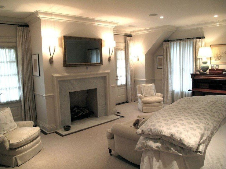 Best Bedroom Fireplace Traditional Bedroom Jane Green With Pictures