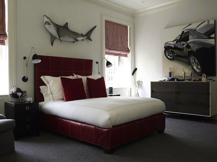 Best Shark Wall Decor Contemporary Boy S Room David With Pictures