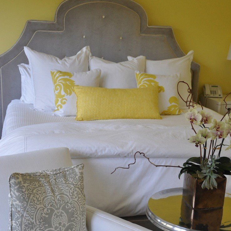 Best Gray And Yellow Bedroom Design Ideas With Pictures