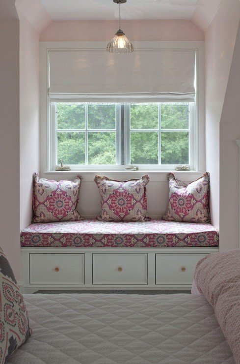 Best Pink And Gray Girls Room Transitional Girl S Room With Pictures