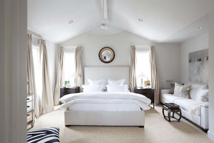 Best Vaulted Ceiling Bedroom Transitional Bedroom Ashley With Pictures