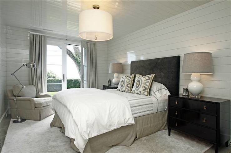 Best Black And Beige Bedroom Transitional Bedroom 248 With Pictures