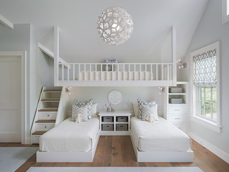 Best Loft Bed Ideas Transitional Girl S Room Sophie Metz With Pictures