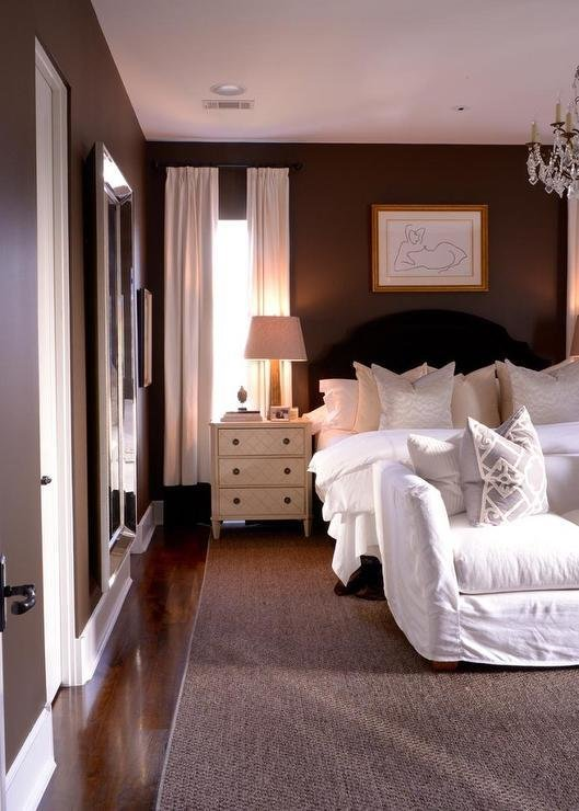 Best Brown And Black Bedrooms Transitional Bedroom With Pictures