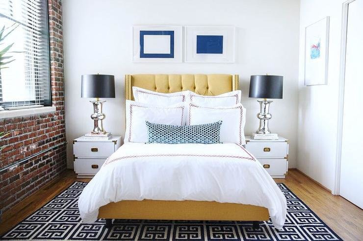 Best Yellow And Black Bedrooms Contemporary Bedroom With Pictures