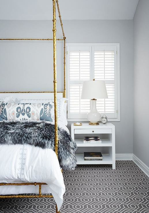Best White And Grey Bedroom With Gray Cashmere Throw With Pictures
