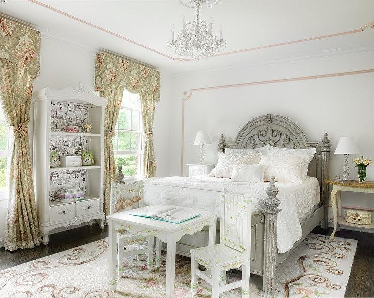 Best Green And Gray French Bedroom With Gray Distressed French With Pictures
