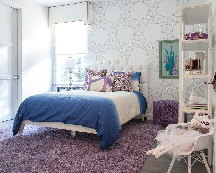 Best Contemporary Kid Room With Purple Sofa Contemporary With Pictures