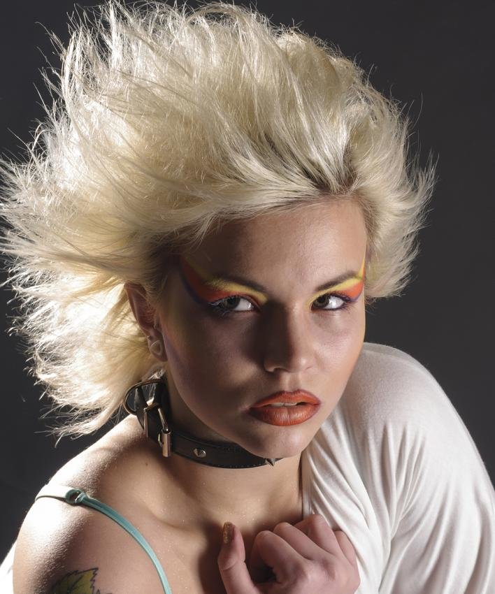 Free Punk Hairstyles From The 80S Hair Wallpaper