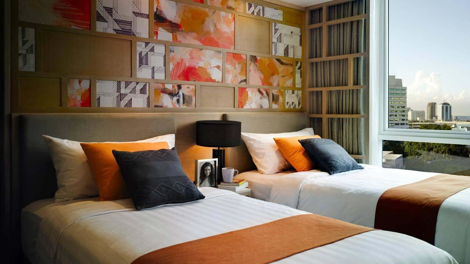 Best Two Bedroom Suite Amari Residences Bangkok With Pictures