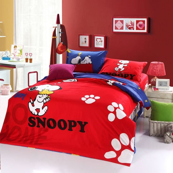 Best Snoopy And Friends Bedding Sets Cozybeddingsets With Pictures