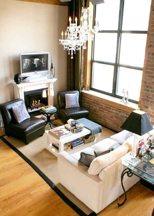 Best Ideas For Small Living Room Furniture Arrangements With Pictures